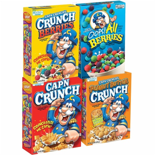 Cap'N Crunch Variety Pack - 4 ct Perspective: front