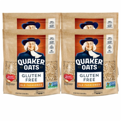 Quaker Gluten Free Old Fashioned Oats Perspective: front