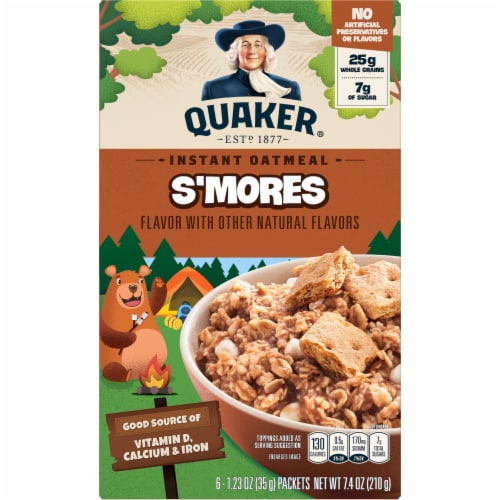 Quaker® S'mores Instant Oatmeal Perspective: front