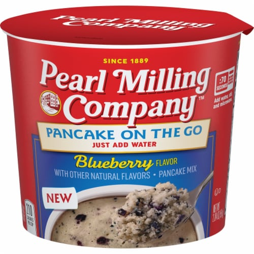 Pearl Milling Company Pancake On The Go Blueberry Pancake Mix Perspective: front