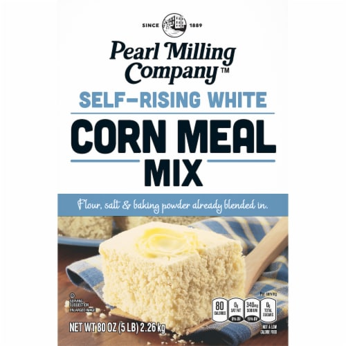 Pearl Milling Company Self-Rising White Corn Meal Mix Perspective: front