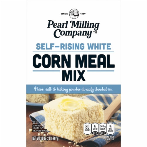 Pearl Milling Company™ Self-Rising White Corn Meal Mix Perspective: front