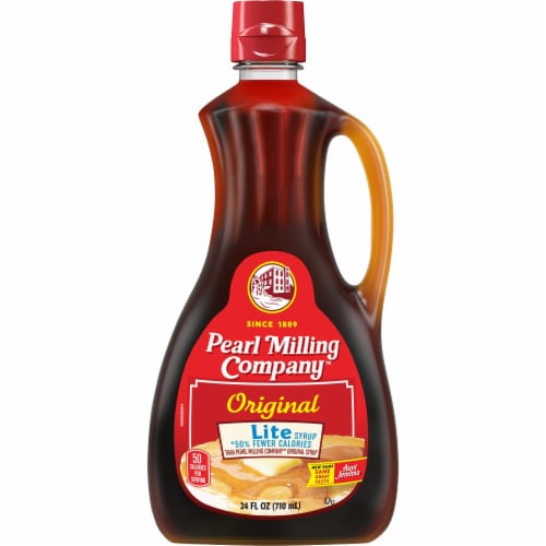 Pearl Milling Company™ Original Lite Syrup Perspective: front