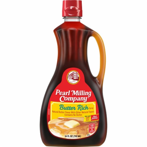 Pearl Milling Company Butter Rich Syrup Perspective: front
