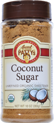 GloryBee Organic Coconut Sugar Perspective: front