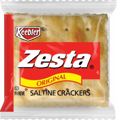 Zesta Original Single Serve Saltine Crackers Perspective: front
