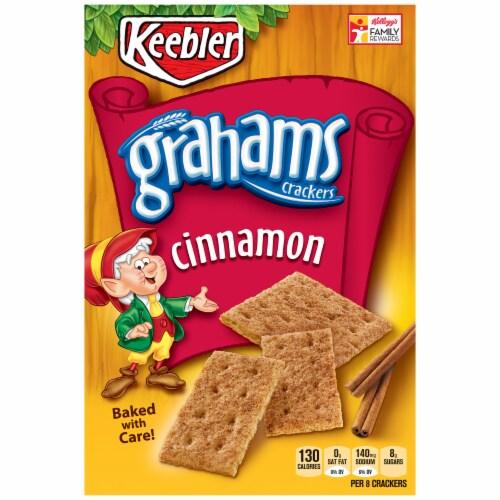 Keebler Cinnamon Graham Crackers Perspective: front