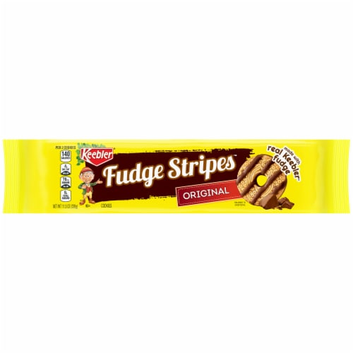 Keebler Original Fudge Stripes Cookies Perspective: front