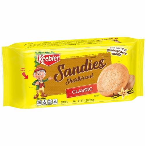 Keebler Sandies Classic Shortbread Cookies Perspective: front
