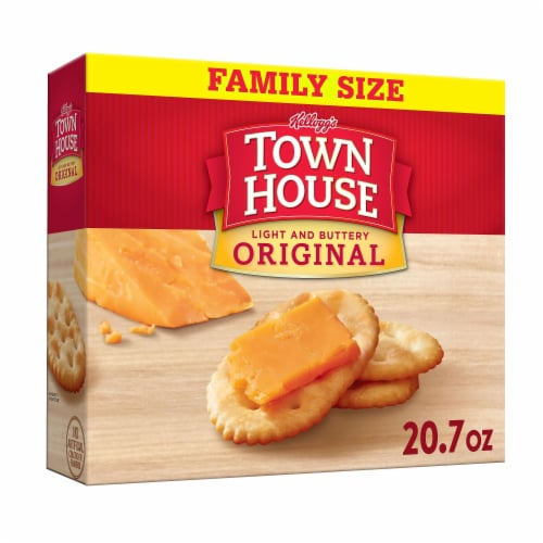 Town House Crackers Original Family Size Perspective: front