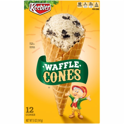 Keebler Waffle Cones 12 Count Perspective: front