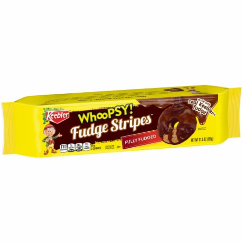 Keebler Whoopsy! Fudge Stripes Cookies Perspective: front