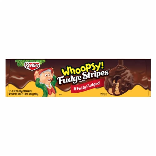 Keebler Whoopsy Fudge Stripes, 2.32 Ounce -- 144 per case Perspective: front