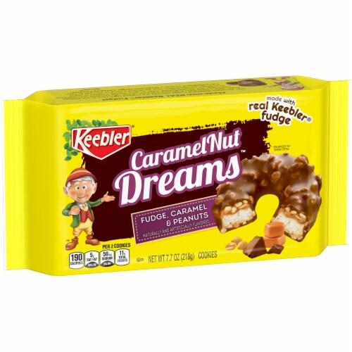 Keebler Fudge Shoppe Caramel Nut Dreams Cookies Perspective: front