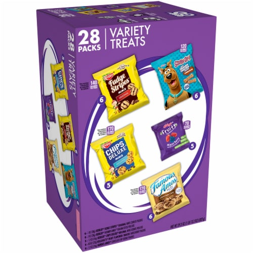 Keebler Variety Treats Pack Perspective: front