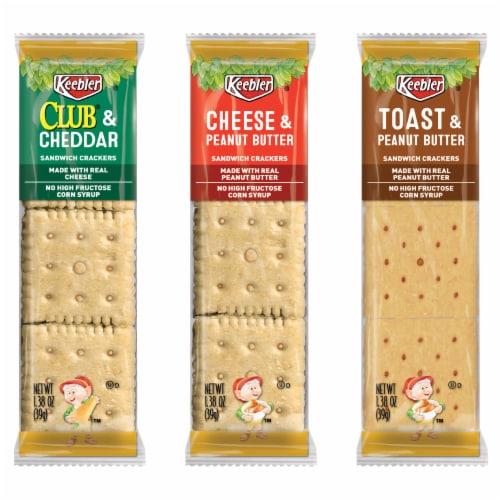 Keebler Cracker Packs Variety Perspective: front