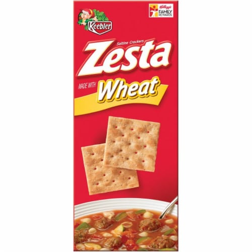 Zesta Whole Wheat Saltine Cracker, 16 Ounce -- 12 per case. Perspective: front