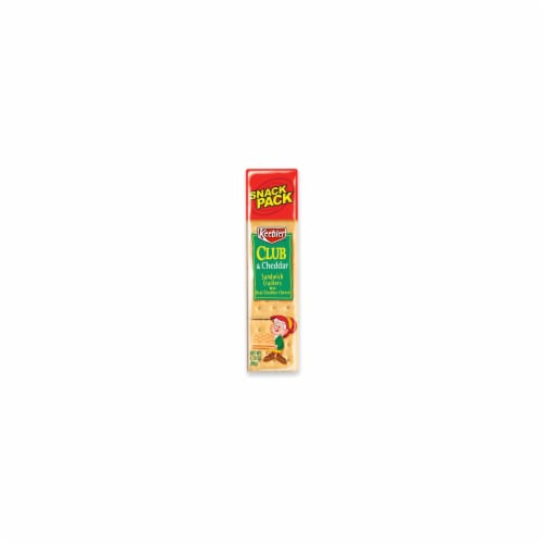 Keebler Club and Cheddar Sandwich Crackers - 1.8 oz. package, 144 per case Perspective: front