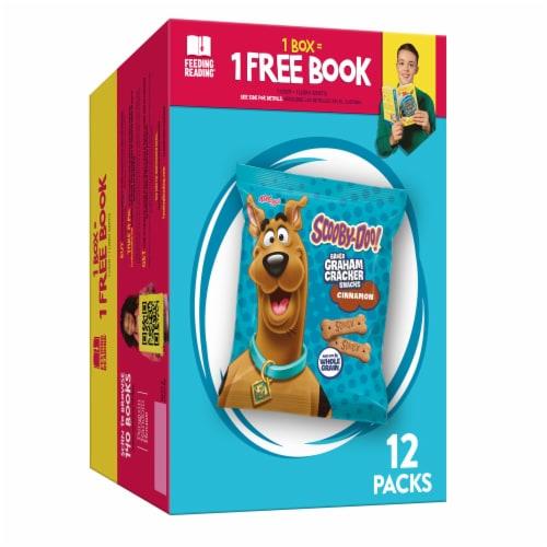 Keebler Scooby-Doo Cinnamon Baked Graham Cracker Sticks 12 Count Perspective: front