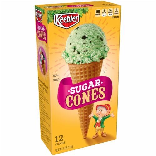 Keebler Sugar Cones Perspective: front