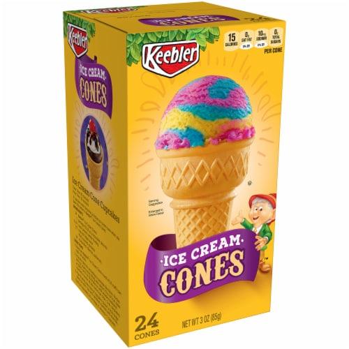 Keebler Ice Cream Cones Perspective: front