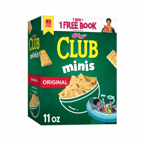 Club Minis Original Snack Crackers Perspective: front