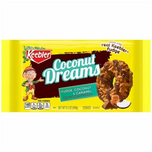 Keebler Coconut Dreams Cookies Perspective: front