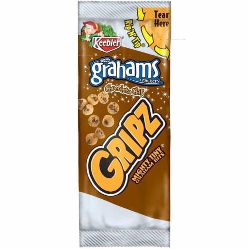 Keebler Gripz Chocolate Chip Graham Cracker, 0.95 Ounce -- 150 per case. Perspective: front