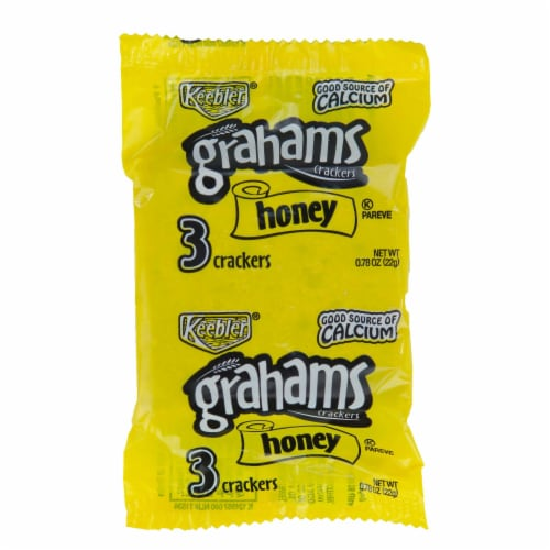 Keebler Honey Graham Cracker with Calcium, 0.78 Ounce -- 150 per case. Perspective: front