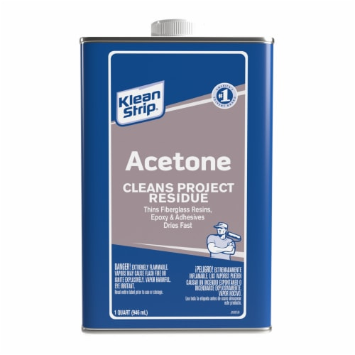 Klean-Strip® Acetone Paint Thinner Perspective: front