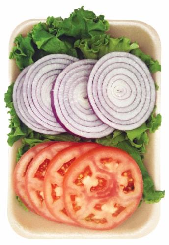 Taylor Farms Hamburger Fixins Perspective: front
