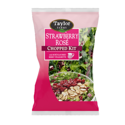 Taylor Farms Strawberry Rose Chopped Salad Kit Perspective: front