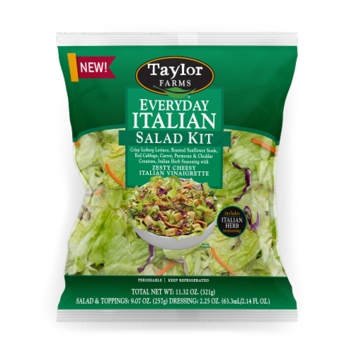 Taylor Farms Everyday Italian Salad Kit Perspective: front