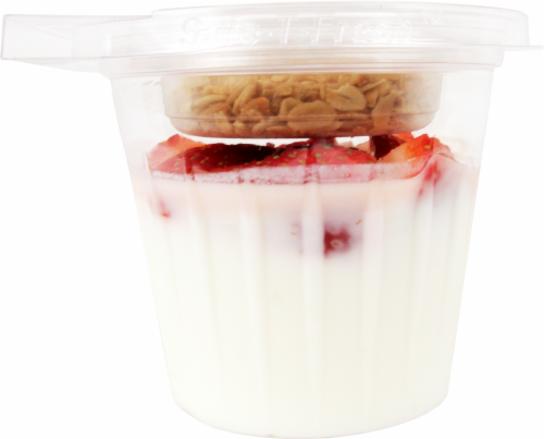 Strawberry Parfait Perspective: front