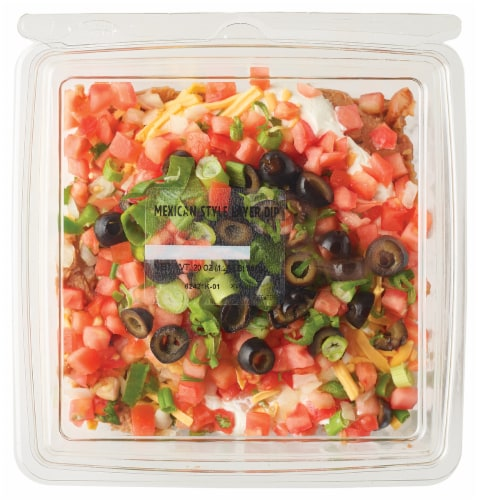 Taylor Farms Mexican Style Layer Dip Perspective: front