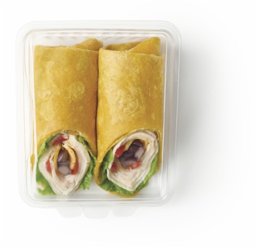 Taylor Farms Southwest Style Chicken Wrap Perspective: front