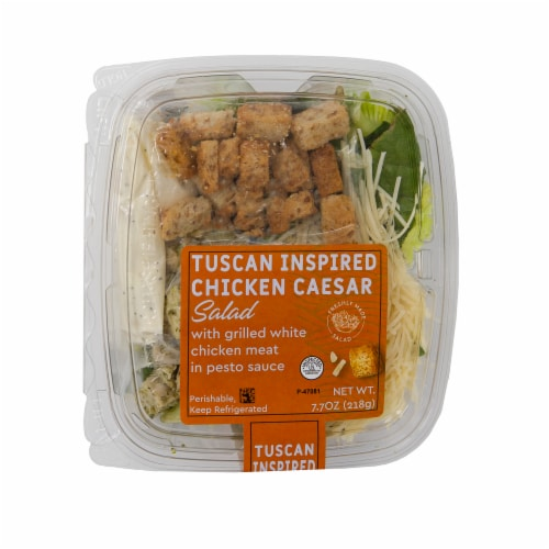 Taylor Farms Tuscan Style Chicken Salad Perspective: front