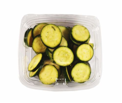 Taylor Farms Fresh Sliced Zucchini Perspective: front
