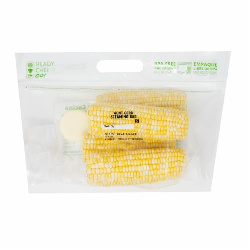 Taylor Farms Corn Steam Bag w/ Butter Perspective: front