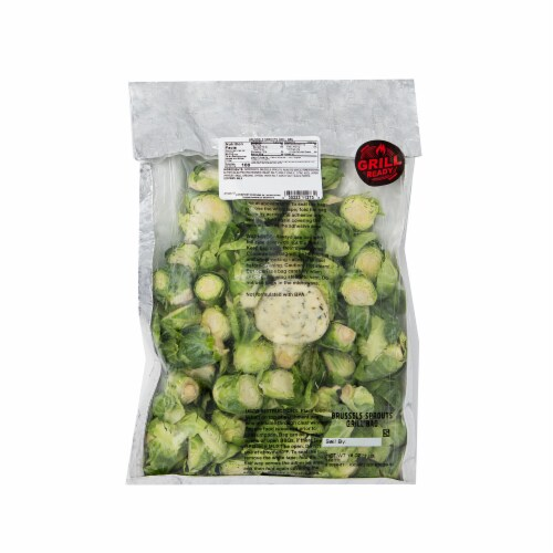 Taylor Farms Brussels Sprouts Grill Bag Perspective: front