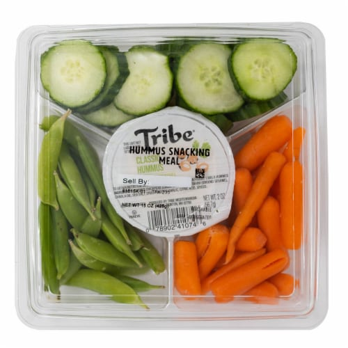 Taylor Farms Veggies and Hummus Snacking Meal Perspective: front