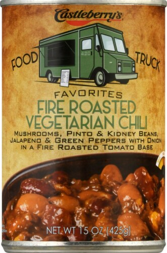Castleberry's Food Truck Favorites Fire Roasted Vegetarian Chili Perspective: front