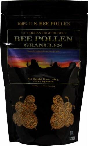 C C Pollen  High Desert Bee Pollen Granules Bag Perspective: front
