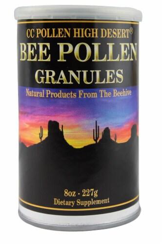 C C Pollen  High Desert® Bee Pollen Granules Perspective: front