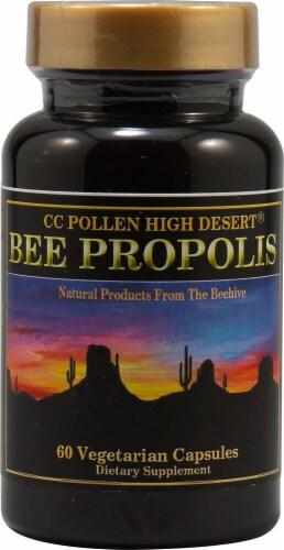 C C Pollen  High Desert® Bee Propolis Perspective: front