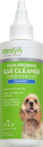 Tomlyn Earoxide Non-Probing Ear Cleaner for Dogs & Cats Perspective: front