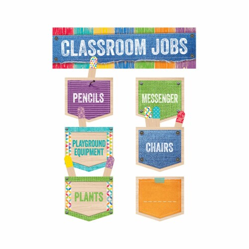 Creative Teaching Press CTP0600 Classroom Jobs Mini Bulletin Board Set Perspective: front