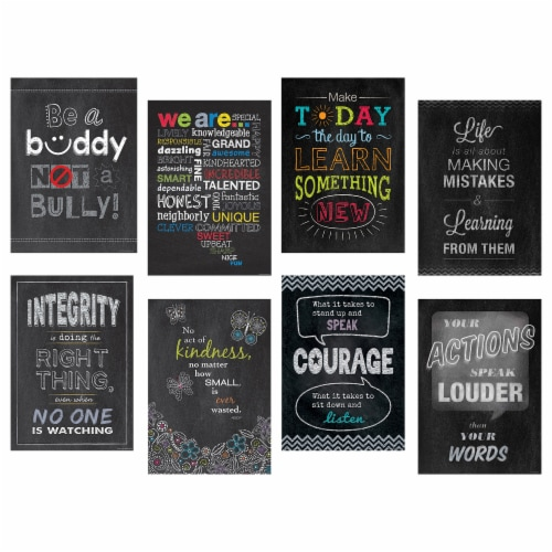 Creative Teaching Press Inspire U Poster Pack Perspective: front