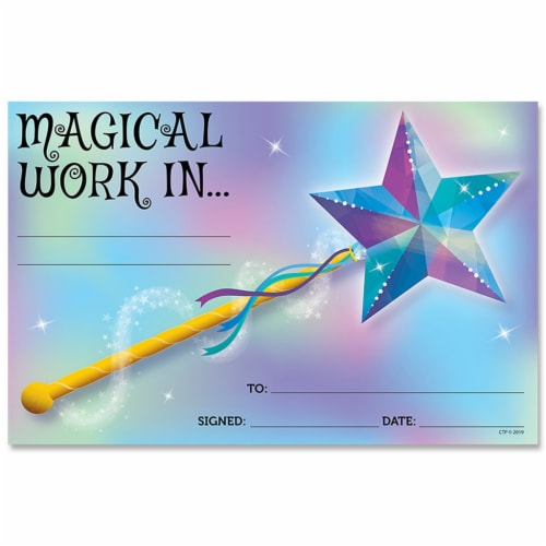 Magical Work Award, 30/Pack Perspective: front