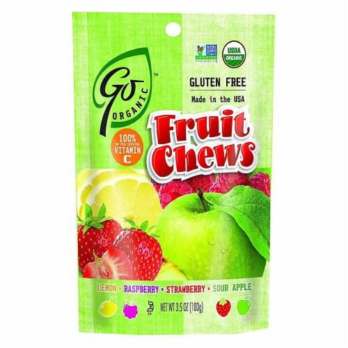 GoOrganic  Gluten Free Fruit Chews   Assorted Fruit Perspective: front